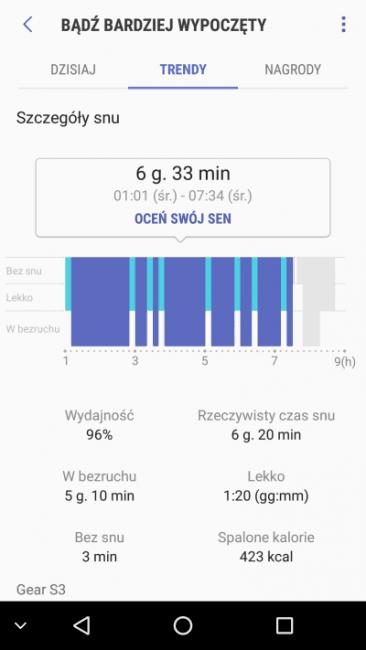 Recenzja Samsunga Gear S3 Classic - dobry smartwatch stał się jeszcze lepszy 42