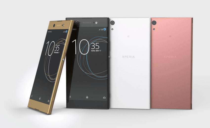 Oprócz Xperii XZ Premium, Sony zaprezentowało trzy inne smartfony - XZs i średniopółkowe XA1 i XA1 Ultra 25