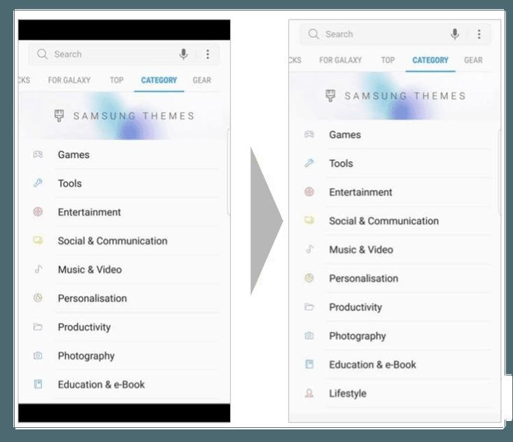 Tabletowo.pl Google naciska na deweloperów, żeby aktualizowali aplikacje, by mogły działać na smartfonach z proporcją ekranu 18:9 Aplikacje Google Oprogramowanie Smartfony Technologie