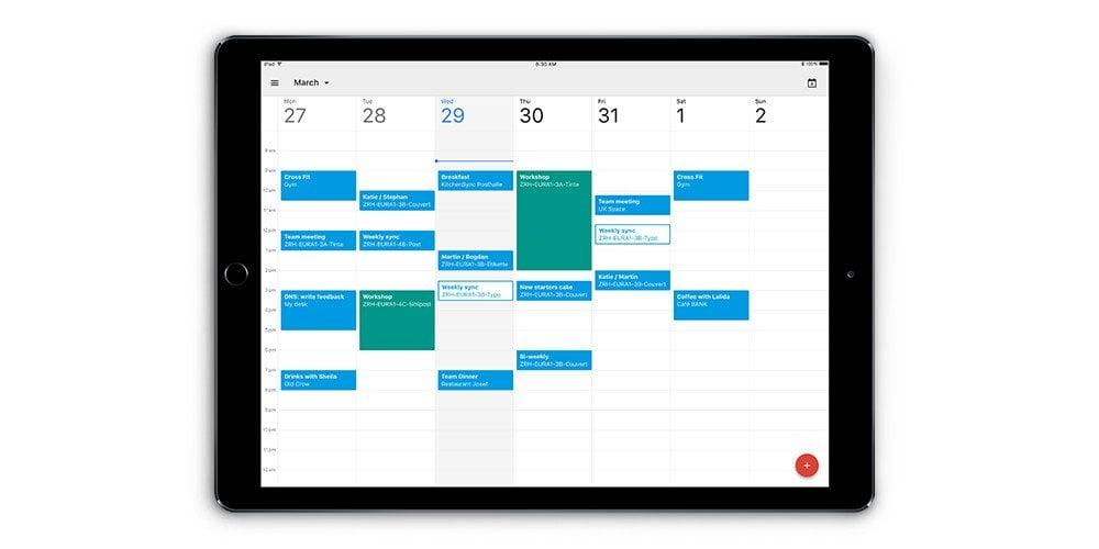 """Brawo, Google. Minęły wieki, ale Kalendarz Google jest """"już"""" dostępny na iPady 17"""