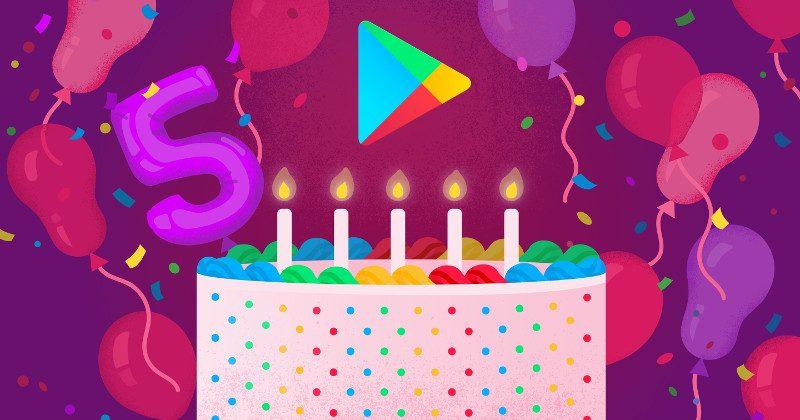 Tabletowo.pl Google Play ma już 5 lat. Oto najbardziej popularne aplikacje, filmy i książki pobierane na Androida Ciekawostki