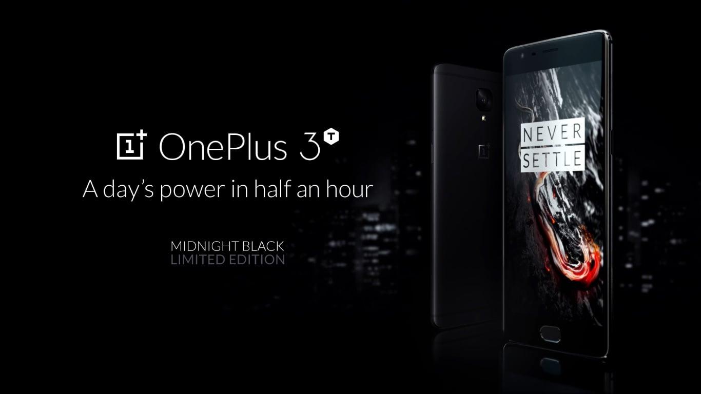 OnePlus 3T Midnight Black oficjalnie w całości wyprzedany 15