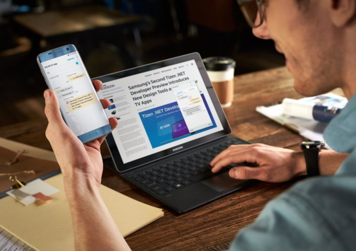 Samsung Flow odblokuje każde urządzenie z Windows 10 przy pomocy skanera odcisków palców w smartfonie