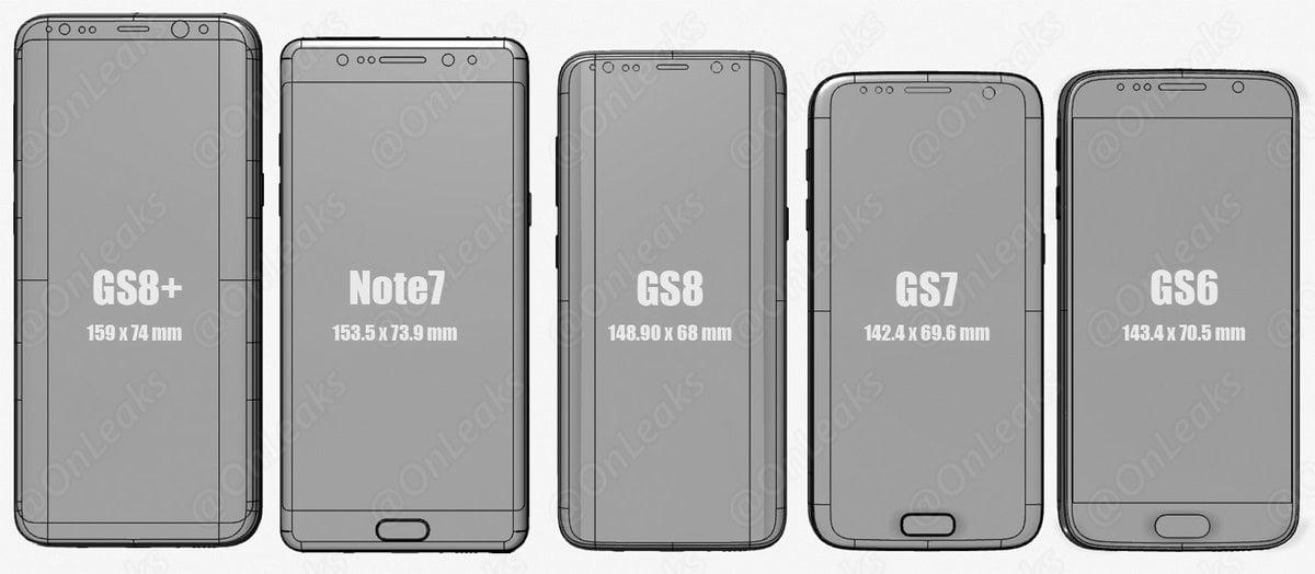 Tym razem wiarygodne porównanie: Galaxy S6, Galaxy S7, Galaxy S8, Galaxy Note 7 i Galaxy S8+ 20