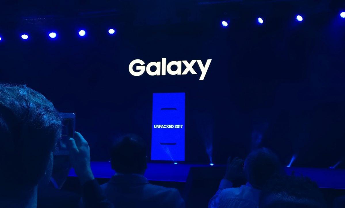 Tabletowo.pl Liveblog: premiera Samsunga Galaxy S8 i Galaxy S8+ Na żywo Samsung Smartfony Wydarzenia
