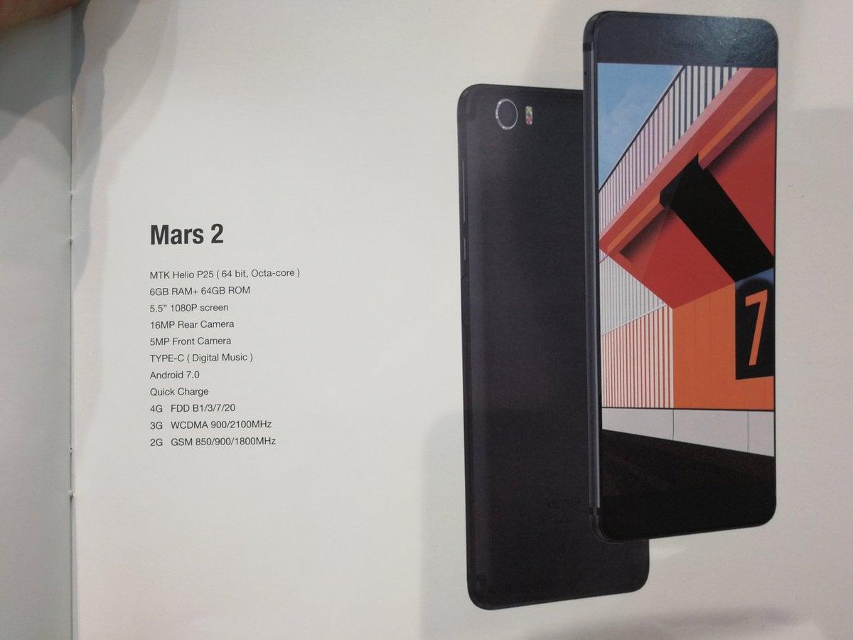 Tabletowo.pl Na targach MWC 2017 poznaliśmy dokładną specyfikację czterech nowych smartfonów Vernee Android Chińskie MWC 2017 Smartfony
