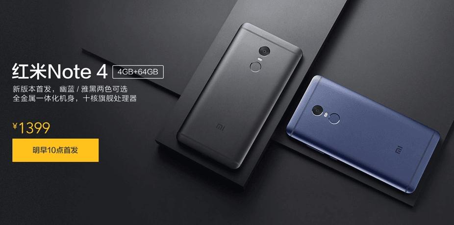 Tema Xiaomi Redmi Nota 4 2017 Para Android: Xiaomi Redmi Note 4 Od Jutra Dostępny W Nowej Wersji: Z
