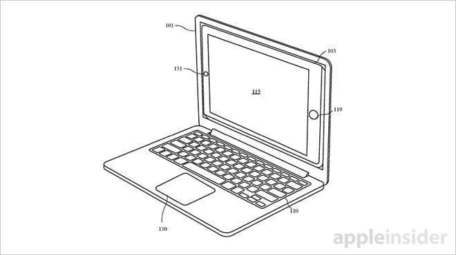 Tabletowo.pl Jabłko w książce. Stary pomysł Asusa w nowym patencie Apple Apple Smartfony Sprzęt Technologie
