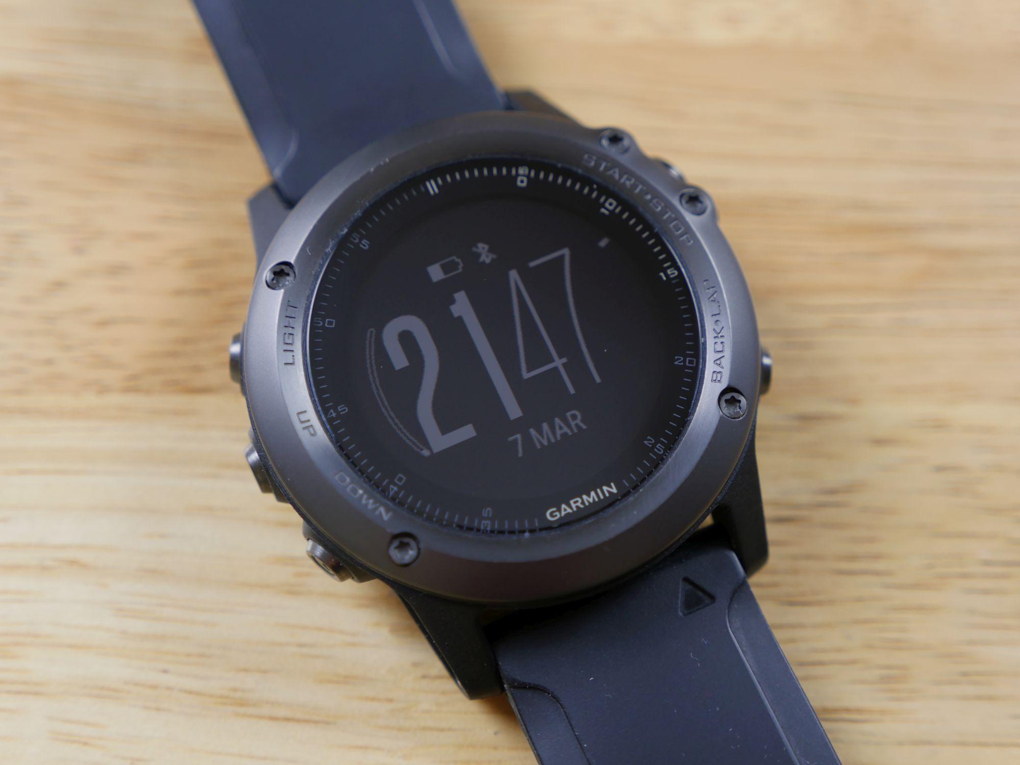 Recenzja zegarka Garmin Fenix 3 w wersji Sapphire HR Elevate