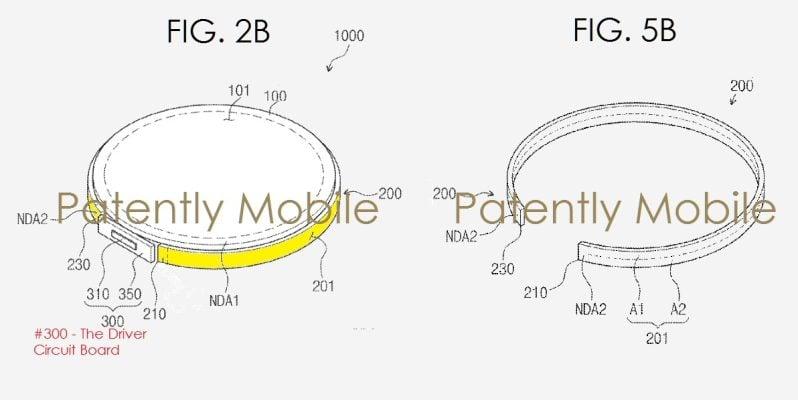 Tabletowo.pl Następne generacje zegarków Samsung Gear mogą mieć pokrętła będące wyświetlaczami Ciekawostki Koncepcje Samsung Wearable