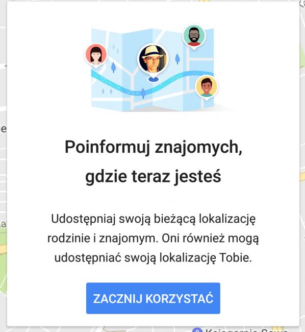 Tabletowo.pl Każdy, kto używa Map Google, może już udostępniać swoją lokalizację Aktualizacje Android Aplikacje Google iOS