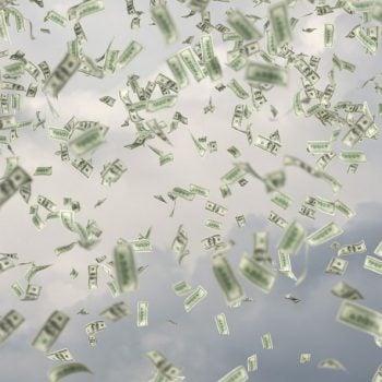 kasa dolary pieniądze money