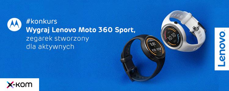 Tabletowo.pl Konkurs! Zgarnij Lenovo Moto 360 Sport Android Konkursy Wearable