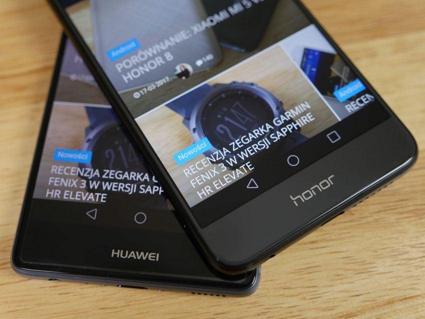 Tabletowo.pl Porównanie: Honor 8 vs Huawei P9 Android Huawei Nowości Porównania Smartfony