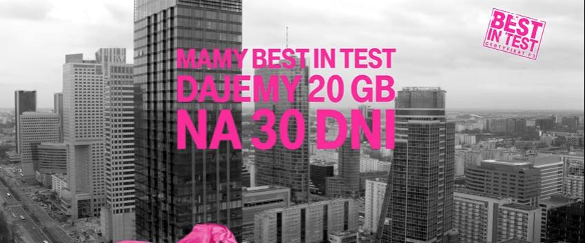 T-Mobile rozdaje gigabajty swoim klientom - 20 GB pakietu internetowego dla wszystkich 22
