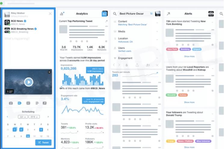 Tabletowo.pl Możliwe, że Twitter wprowadzi abonament w programie TweetDeck. Tylko kto za to będzie płacił? Aplikacje Social Media