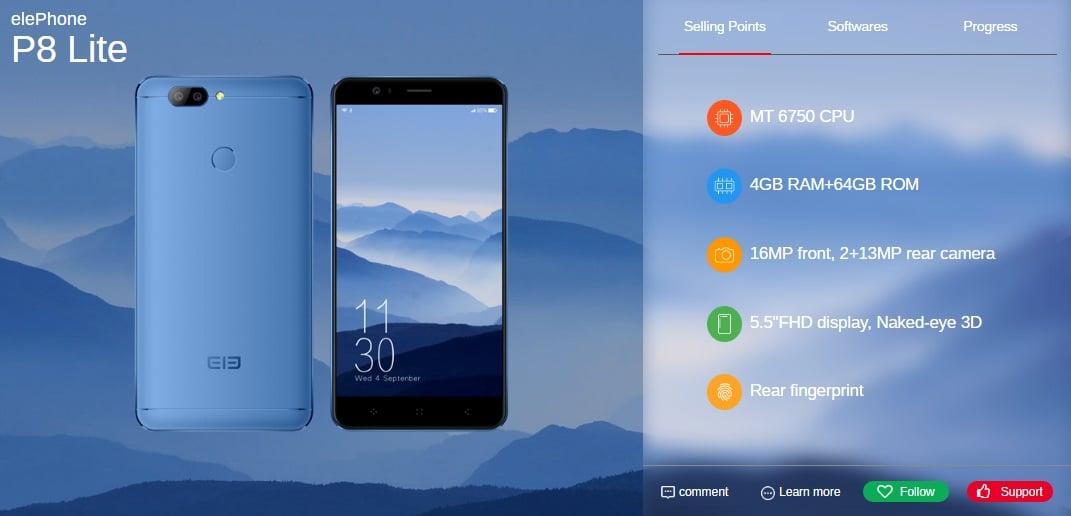 Elephone do czerwca wyda pięć nowych smartfonów, w tym modele P8, P8 Lite i S8 27