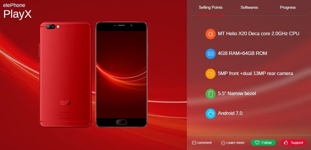 Elephone do czerwca wyda pięć nowych smartfonów, w tym modele P8, P8 Lite i S8 26