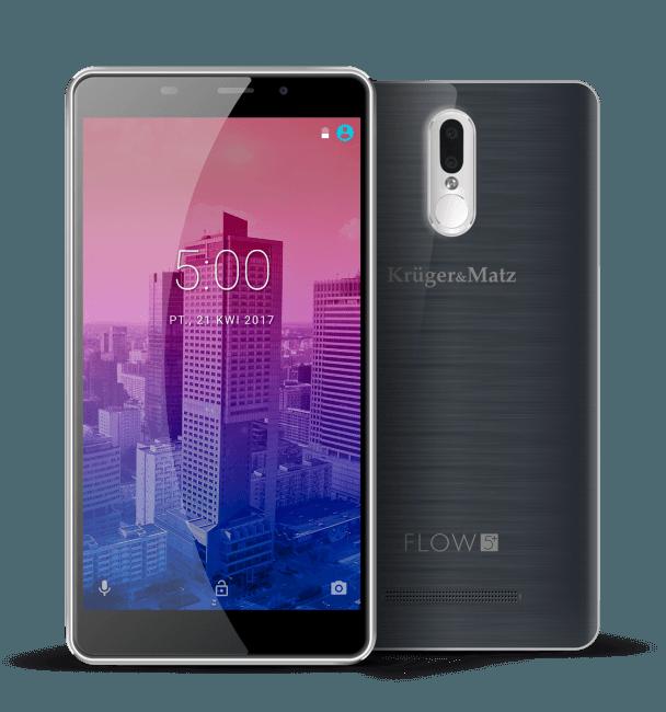 Tabletowo.pl Kruger&Matz Flow 5 i Flow 5+ zaprezentowane Android Kruger&Matz Nowości Smartfony