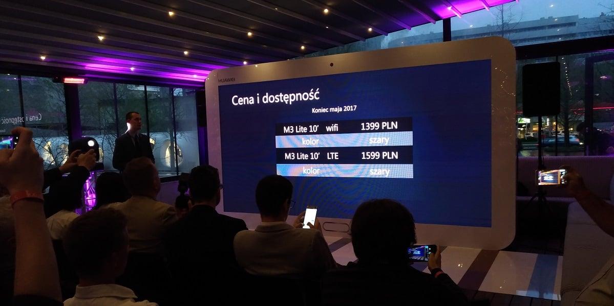 """Tabletowo.pl Huawei MediaPad M3 Lite 10"""" trafi do sprzedaży w Polsce pod koniec maja. Znamy cenę Android Huawei Tablety"""