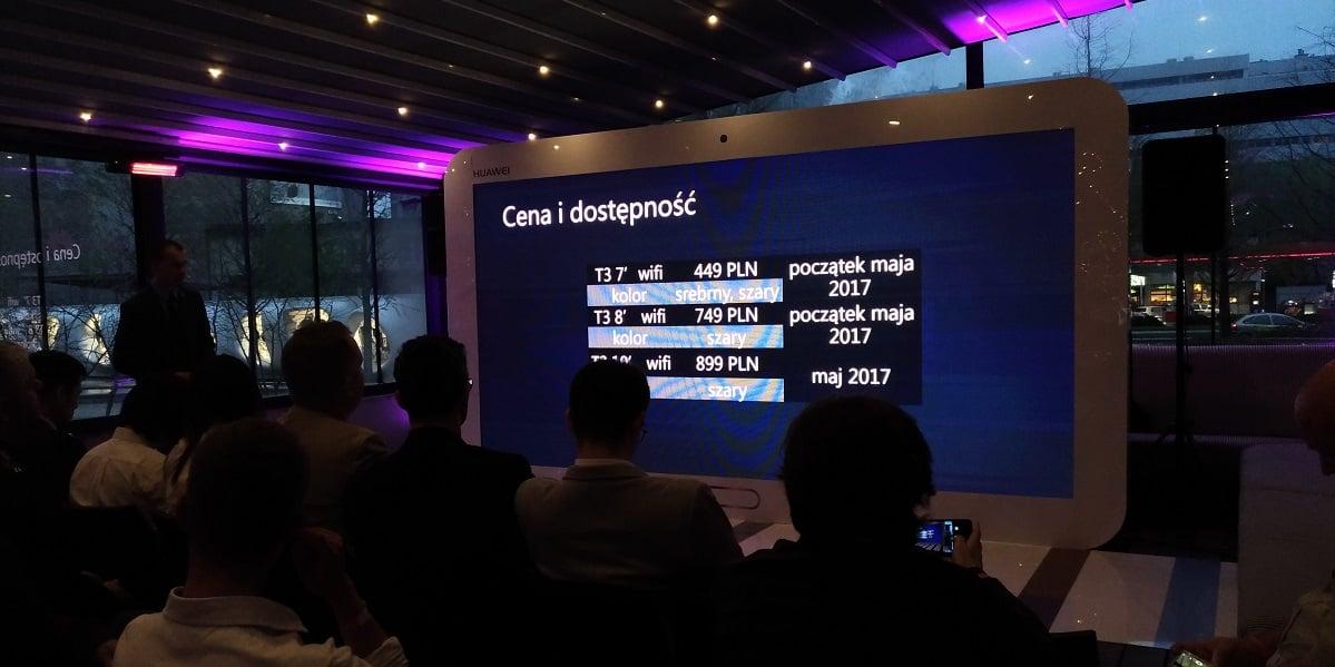 """Nowe tablety Huawei, MediaPad T3 7"""", T3 8"""" i T3 10"""" debiutują w Polsce. Znamy ceny 18"""