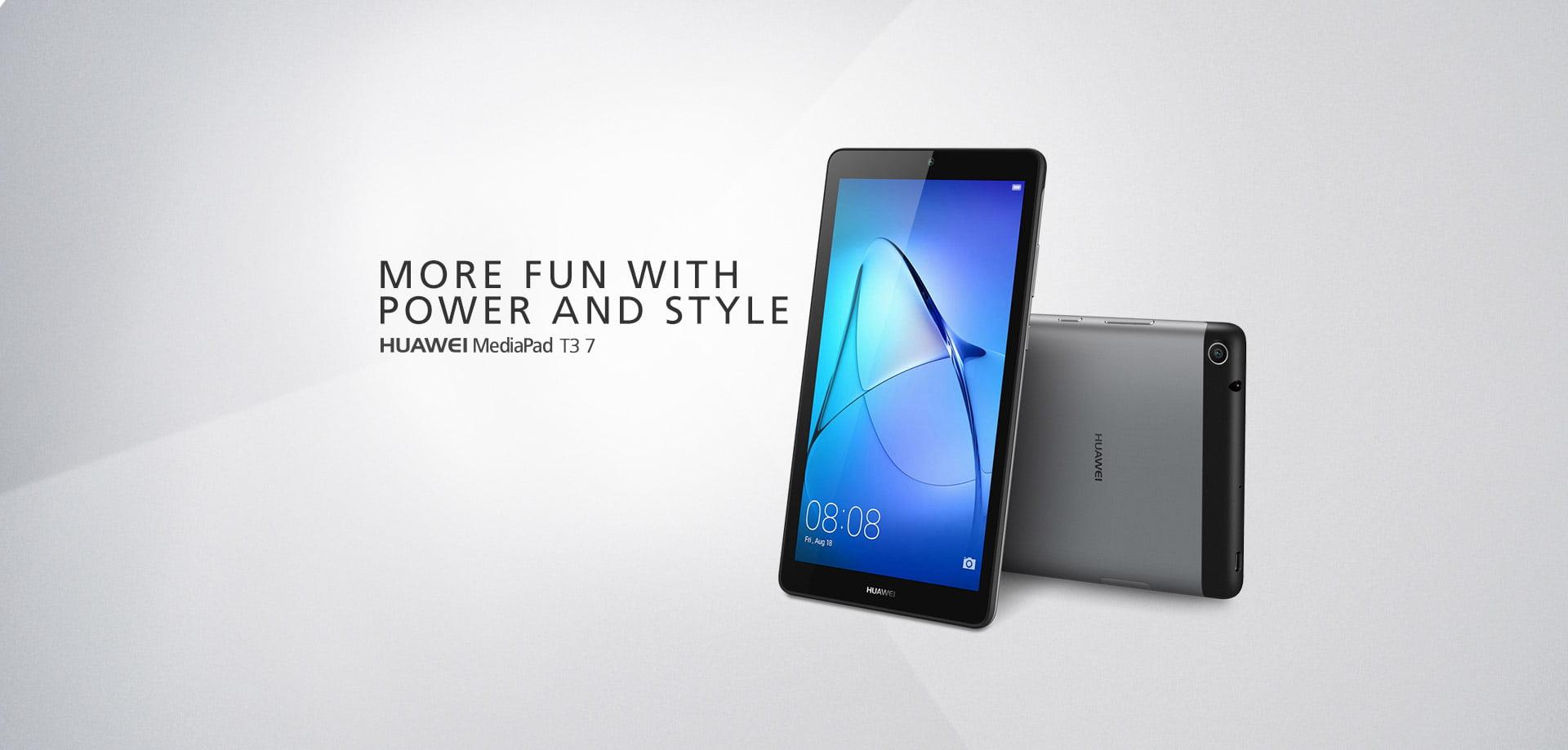 """Tabletowo.pl Nowe tablety Huawei, MediaPad T3 7"""", T3 8"""" i T3 10"""" debiutują w Polsce. Znamy ceny Android Huawei Tablety"""