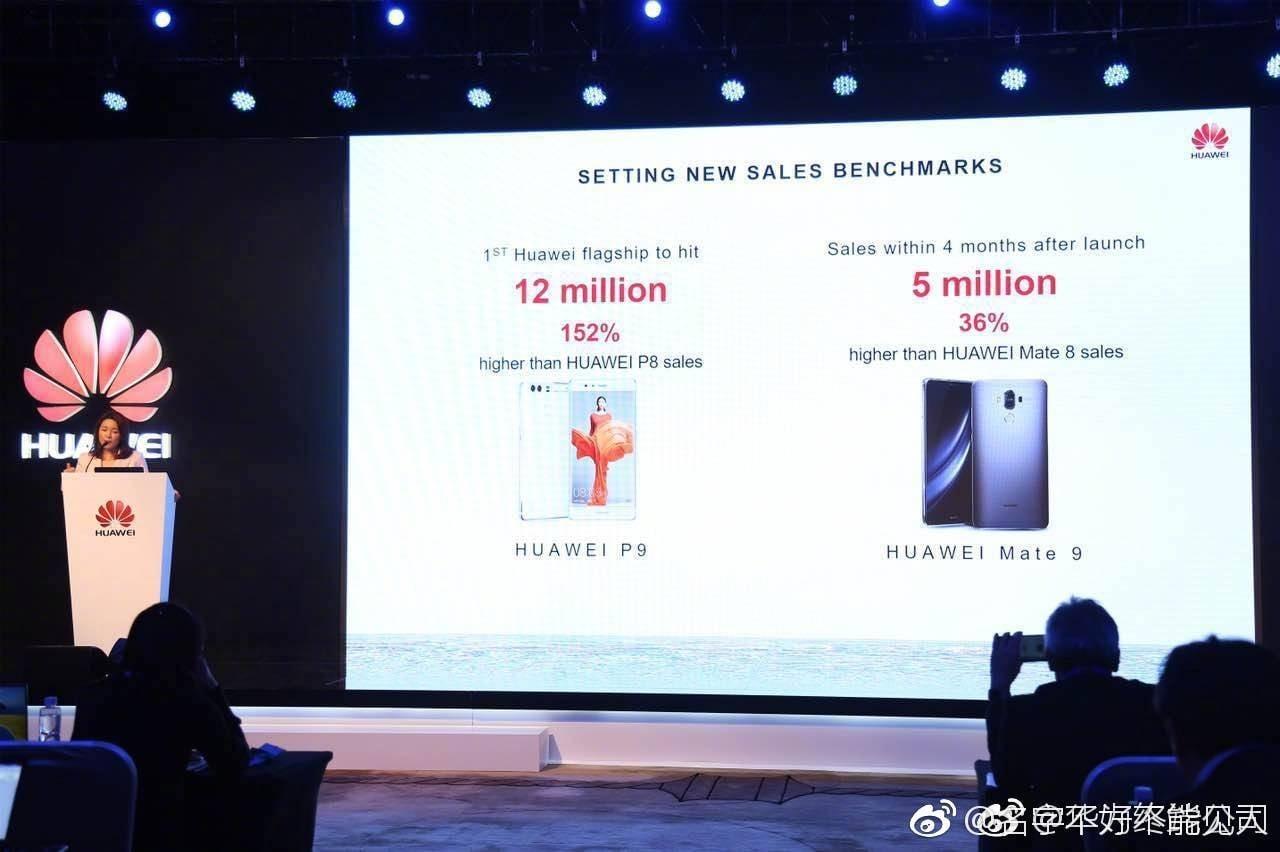 Tabletowo.pl W 4 miesiące Huawei sprzedał 5 milionów egzemplarzy Mate 9 Android Huawei Raporty/Statystyki Smartfony
