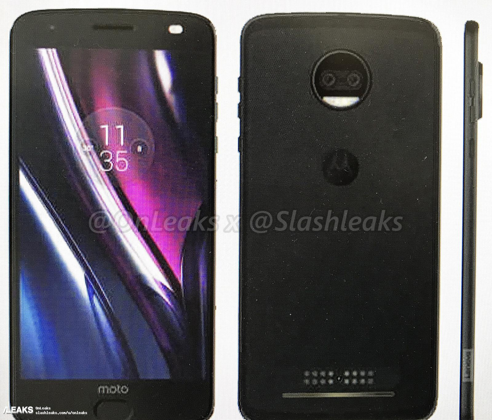 Tabletowo.pl Tak będą wyglądać nadchodzące nowości Lenovo: Moto C, Moto C Plus, Moto E4 i Moto Z2 Force Android Lenovo Motorola Plotki / Przecieki Smartfony