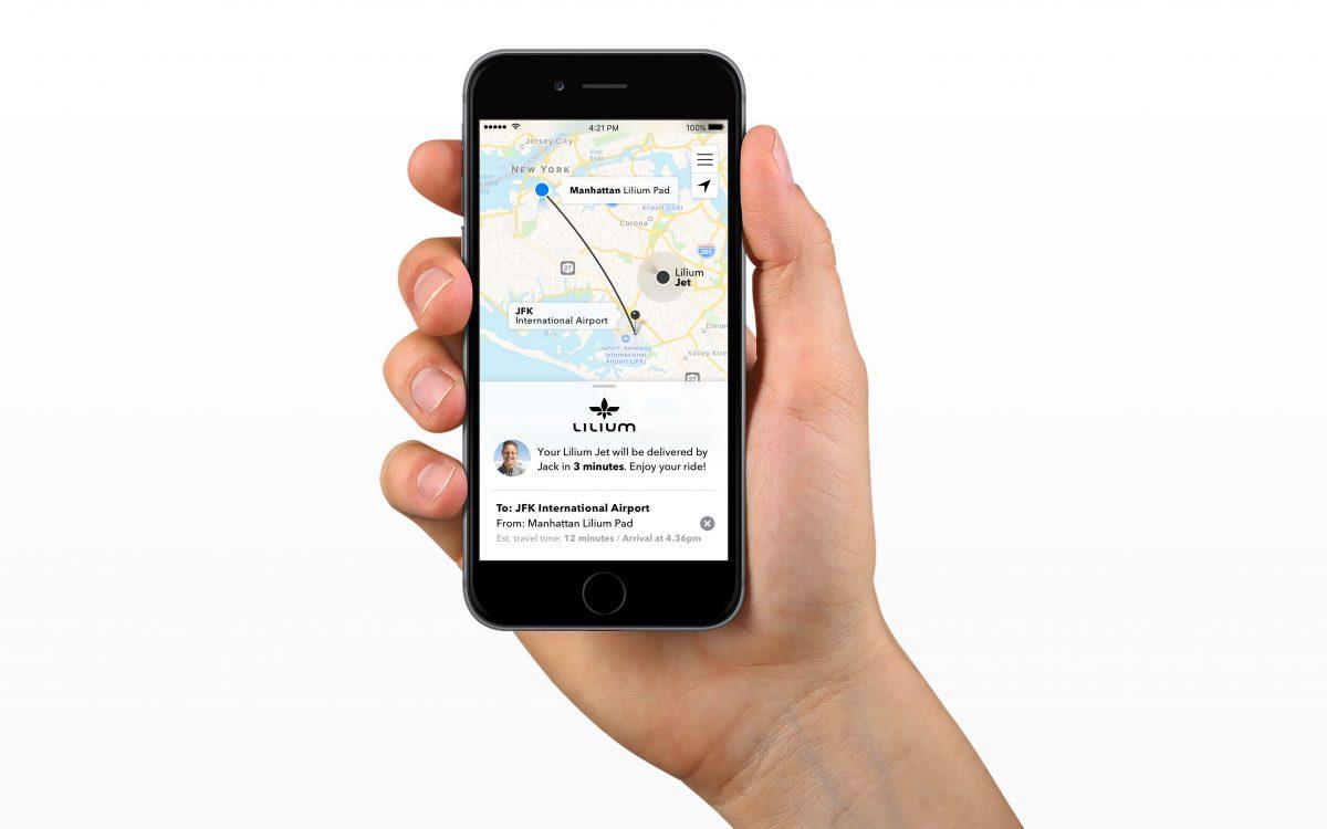 Tabletowo.pl Latające taksówki coraz bliżej - Lilium prezentuje udane testy swojej maszyny Nowości Technologie