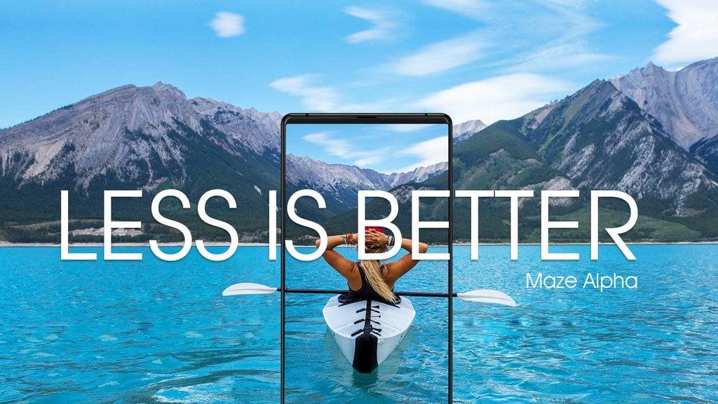"""Tabletowo.pl """"Im mniej, tym lepiej"""" - takim sloganem zapowiada się kolejny klon Xiaomi Mi Mix, Maze Alpha Android Chińskie Smartfony"""
