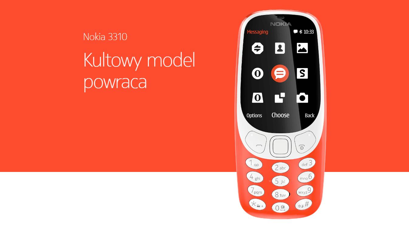 Nowa Nokia 3310 w Polsce będzie chyba droższa niż się spodziewaliśmy 20