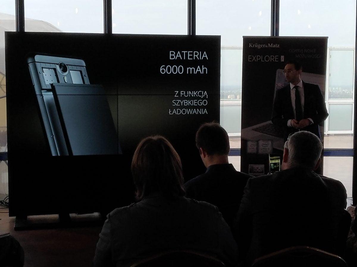 Tabletowo.pl Premiera nowego flagowca Kruger&Matz - oto LIVE 5+ ze sporą baterią Kruger&Matz Nowości Smartfony