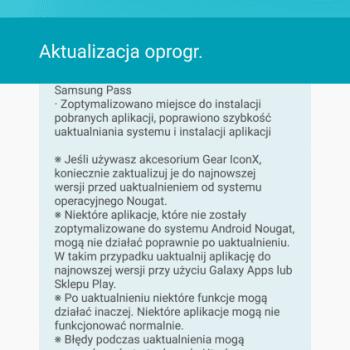 Samsung Galaxy S6 z T-Mobile otrzymał aktualizację do Androida 7.0 Nougat 22