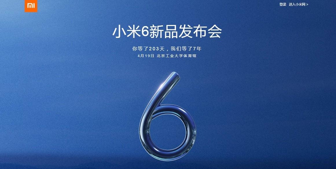 Potwierdzone: Xiaomi Mi 6 zadebiutuje 19 kwietnia. Może być jednak droższy niż wcześniej mówiono 16