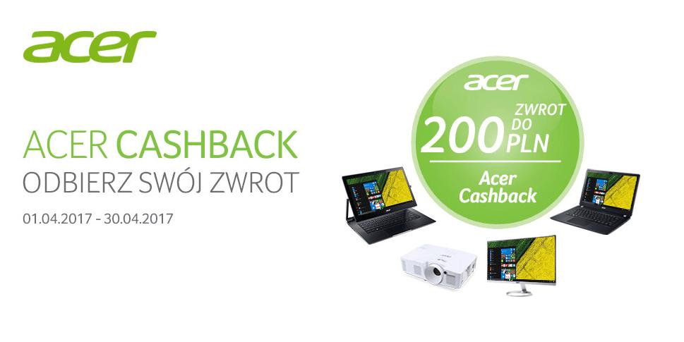 Tabletowo.pl Acer oferuje nawet 200 zł zwrotu za zakup wybranych sprzętów Acer Hybrydy Promocje Sprzęt