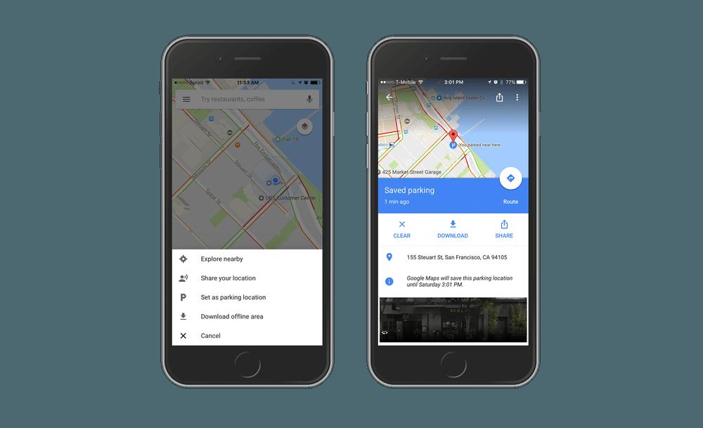 Tabletowo.pl Mapy Google zapamiętają, gdzie zaparkowałeś auto Aplikacje Google