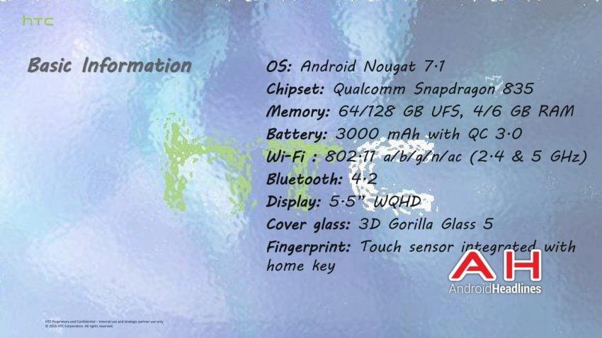 """Wyciekły slajdy z prezentacji HTC U """"Ocean"""" - nowego flagowca Tajwańczyków 23"""