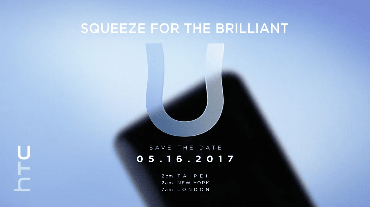 Nowy flagowiec HTC U (Ocean) - smartfon z aktywnymi ramkami zostanie zaprezentowany 16 maja 21