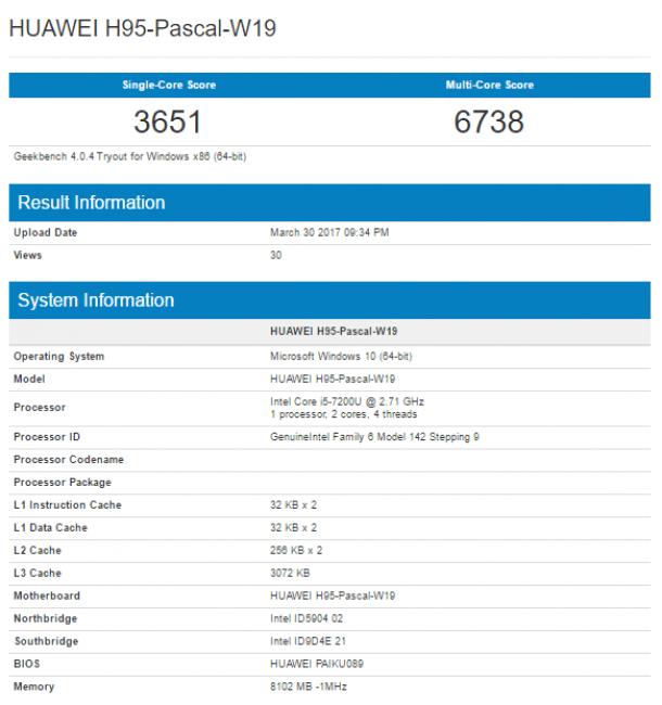 Pojawiła się szczątkowa specyfikacja następcy Huawei MateBook 21