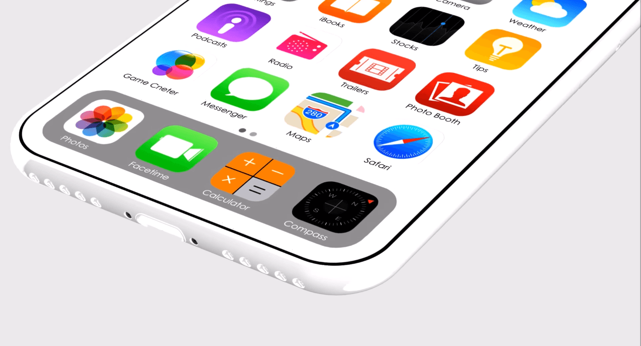 Schemat iPhone'a 8. Gdzie jest czytnik linii papilarnych? 15