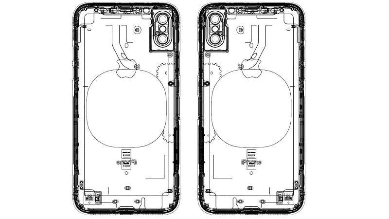 Schemat iPhone'a 8. Gdzie jest czytnik linii papilarnych? 16
