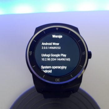 LG G Watch R - Android Wear 2.0