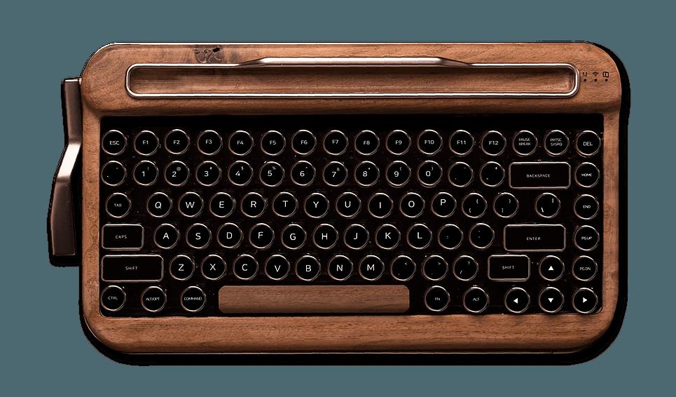 Klawiatura do tabletu, która wygląda jak maszyna do pisania 22