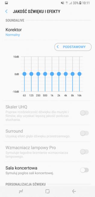 Recenzja Samsunga Galaxy S8+ 19