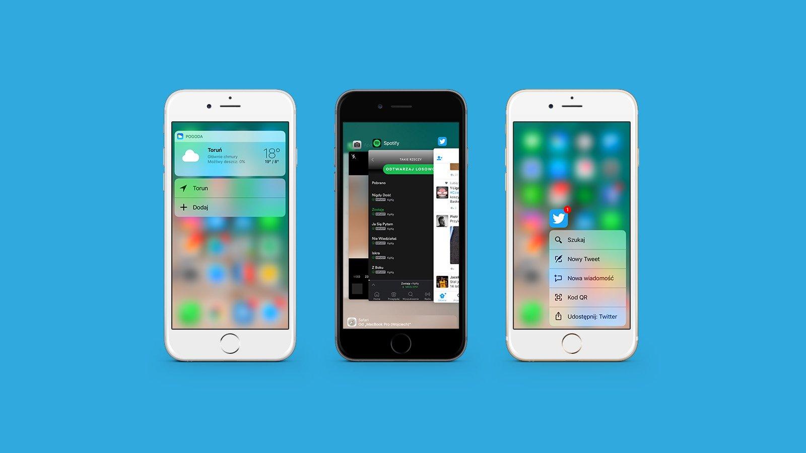Po aktualizacji do iOS 13, większość funkcji 3D Touch w iPhone'ach przestanie działać 25