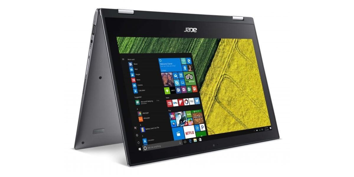 Acer nie czeka do targów Computex 2017 - zapowiada Acer Spin 1 już teraz 21