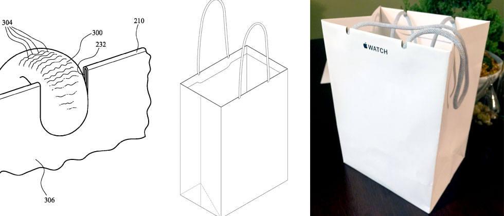 Udało się! Apple dostaje patent na papierową torbę na zakupy 20