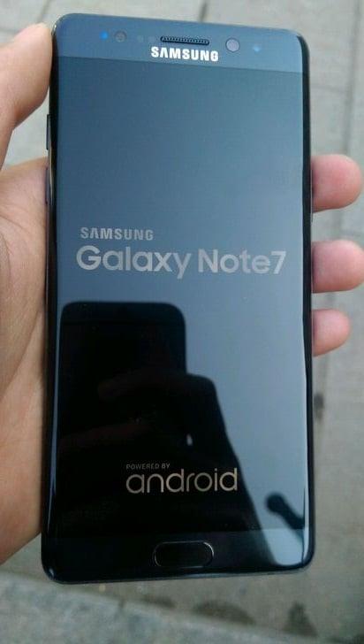 Wyciekły zdjęcia odnowionego Samsunga Galaxy Note 7R 18