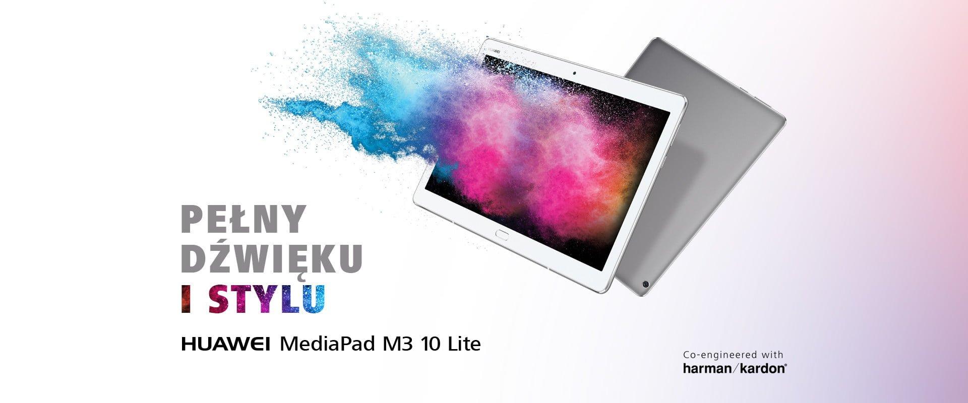 Tablety Huawei MediaPad T3 7, T3 8 i T3 10 oraz MediaPad M3 Lite 10 trafiły do sprzedaży w Polsce 17
