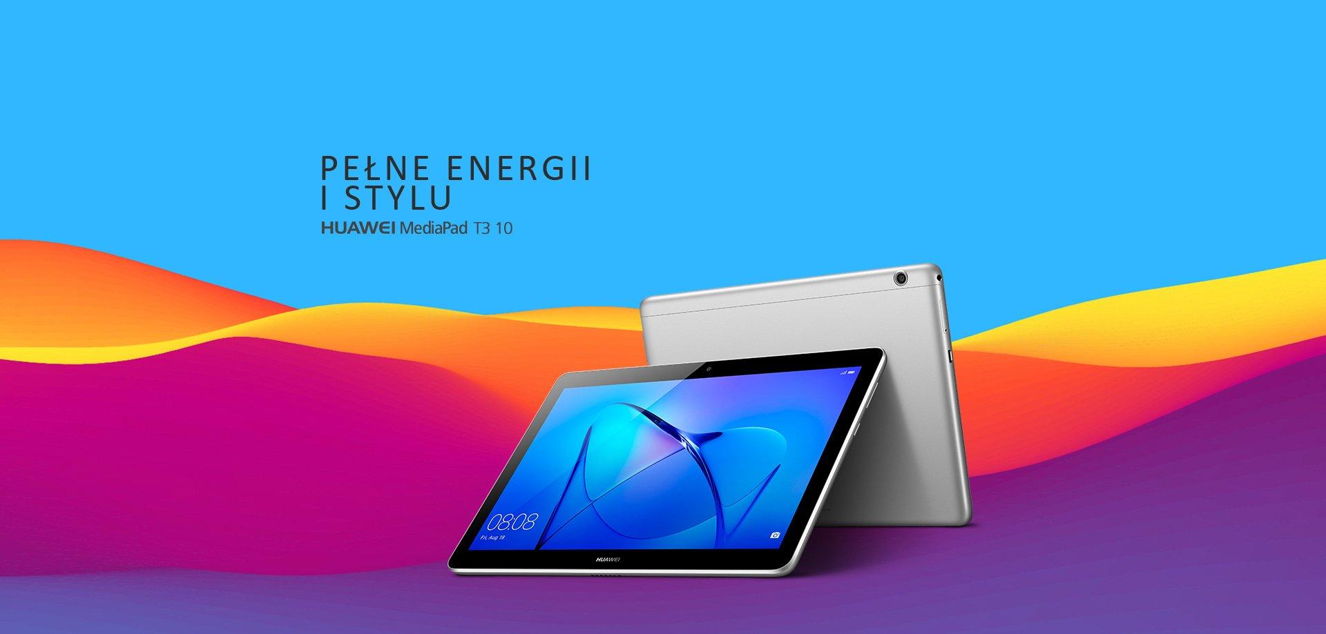 Tabletowo.pl Tablety Huawei MediaPad T3 7, T3 8 i T3 10 oraz MediaPad M3 Lite 10 trafiły do sprzedaży w Polsce Android Huawei Tablety